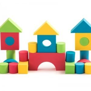 Teeny Toyz, Soft Foam Building Blocks