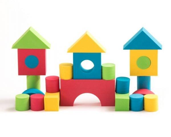 Teeny Toyz, Soft Foam Building Blocks