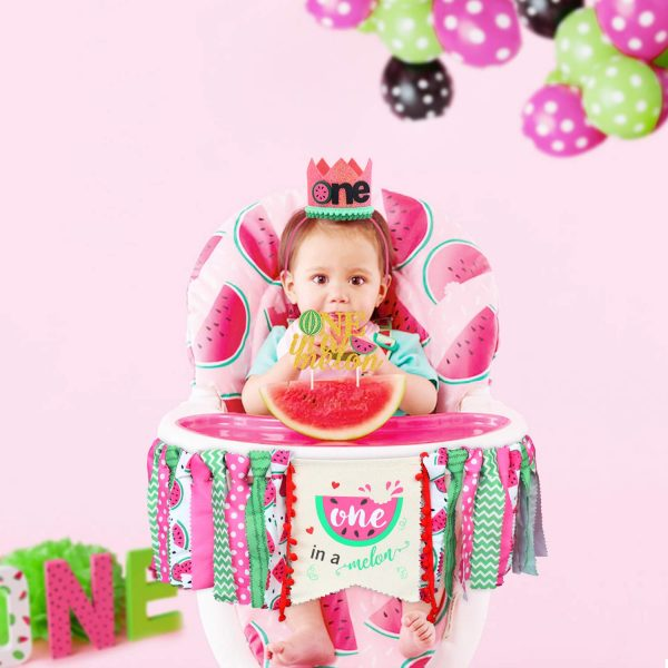 Birthday Highchair Banner