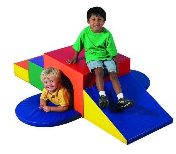 Children's Factory Soft Tunnel Climber Indoor Playground