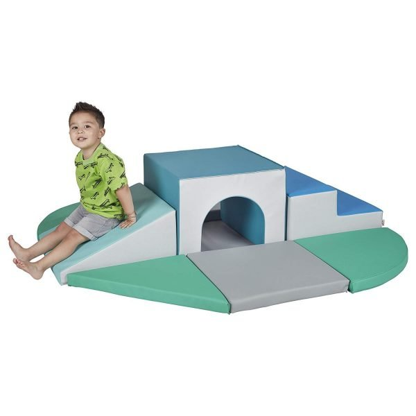 ECR4Kids SoftZone Lincoln Tunnel Foam Climber