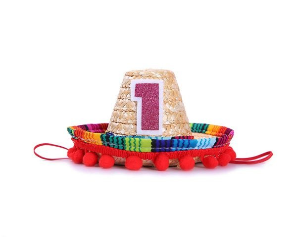Fiesta Cupcake Toppers for Mexican Party Decorations