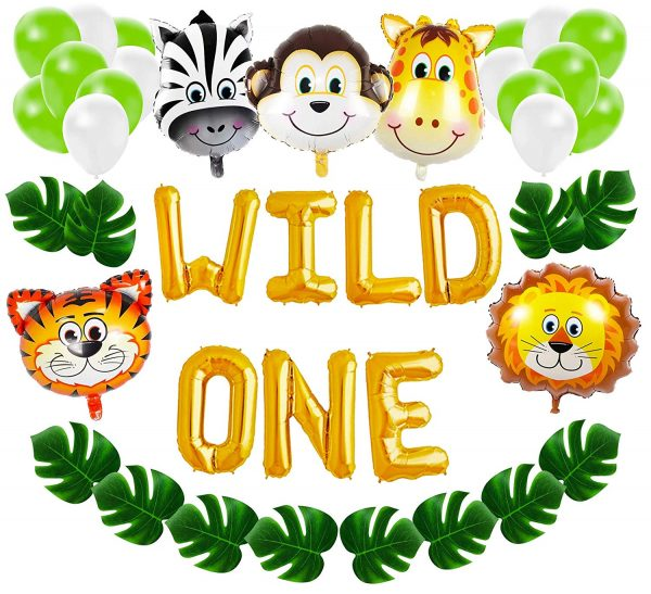 Wild One First Birthday Balloon Decoration Kit