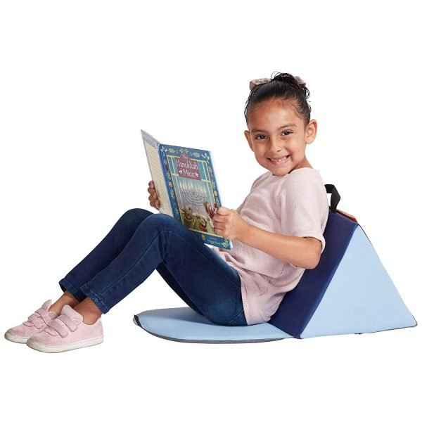 Soft Seat with Storage Book Pocket and Handle